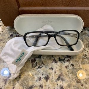 Oakley eyeglasses, case and cleaning bag included